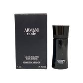GIORGIO ARMANI CODE黑色密碼男性淡香水小香 4ml 【UR8D】