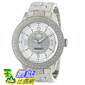 [104美國直購] Marc Ecko Men s E16533G1 Silver Iced Watch