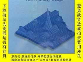 二手書博民逛書店英文原版書Cartography——Thematic罕見Map