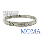 【MOMA】系列純鈦鍺磁手鍊-TB-05...
