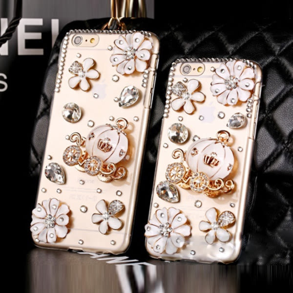 HTC U12+ U11 Desire12 A9s X10 A9S Uplay UUltra Desire10Pro U11EYEs 手機殼 水鑽殼 客製化 訂做 南瓜馬車 雛菊馬車