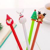【BlueCat】聖誕節3D胖嘟公仔聖誕筆 水性筆