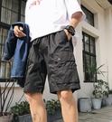 FINDSENSE H1夏季 日本 新款 復古工裝褲 休閒  五分褲短褲 寬鬆百
