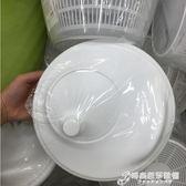 蔬菜甩幹機 沙拉甩幹機沙拉碗蔬菜脫水器手動水果濾水籃 時尚芭莎WD
