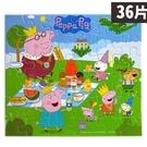 粉紅豬小妹拼圖 36片拼圖盒 PG035D/一盒入(促150) Peppa Pig 京甫正版授權