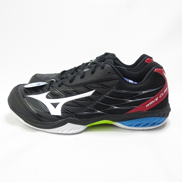 Mizuno CLAW 男款 桌排羽球鞋 71GA191509 3E楦 黑【iSport愛運動】