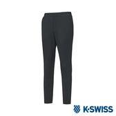 K-SWISS Jersey Pants 韓版運動長褲-男-黑