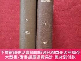 二手書博民逛書店Comparative罕見Literature(2本合售)Y12345 Comparative Literat