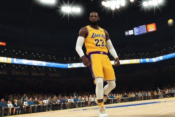 Swtich-NBA 2K19 黃金中文版 含特典 PLAY-小無電玩