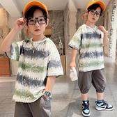 男童T恤 兒童裝男童短袖t恤夏裝2021年新款純棉男孩薄款中大童夏季上衣潮t【快速出貨】