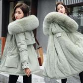反季派克服短款女小個子2020新款冬款顯瘦氣質加絨加厚棉襖棉服潮 快速出貨
