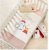 可機洗嬰兒床涼席夏季兒童冰絲席新生兒寶寶涼席幼兒園席子送枕頭 可可鞋櫃