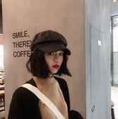 韓國毛呢純色復古鴨舌八角帽子男女秋冬文藝百搭保暖畫家帽報童帽 爾碩數位3c