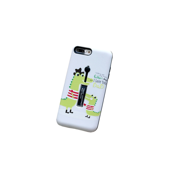 【R】浮雕圖案 矽膠軟指環 金屬隱藏支撐架 磨砂 手機殼 蘋果 iPhone 8 plus XR 全包邊軟殼