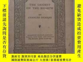 二手書博民逛書店THE罕見CRICKET ON THE HEARTH《竈上蟋蟀》