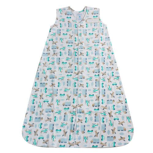 【HALO】純棉防踢包巾-藍色旅行 S號 #10262
