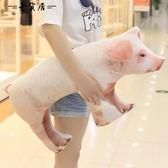 創意仿真母豬抱枕毛絨玩具 75*40cm