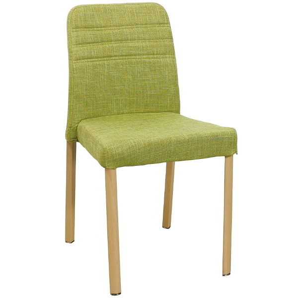 餐椅 QW-719-16 麥莎綠色布餐椅【大眾家居舘】