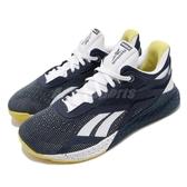Reebok 訓練鞋 Nano X 藍 白 男鞋 多功能 運動鞋 CrossFit專用 【PUMP306】 FW8473