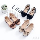 公主鞋 童鞋女童黑色小女孩公主鞋韓版豆豆兒童單鞋春秋 Mc1107『優童屋』