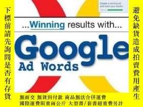 二手書博民逛書店Winning罕見Results With Google AdwordsY256260 Andrew Good