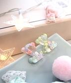 925銀針‧超萌小熊造型透明耳針耳環【Z072901】MyDoll
