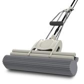 拖把 海綿拖把頭免手洗干濕兩用滾輪式旋轉家用大號地拖布膠棉吸水拖把