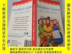 二手書博民逛書店Smallest罕見Giant And Other Stories:最小的巨人和其他故事Y200392