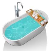 浴缸 獨立式浴缸家用成人衛生間歐式大浴缸浴盆浴池壓克力情侶 莎瓦迪卡