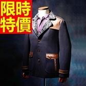 毛呢外套-羊毛好搭防寒短版男風衣大衣2色62n9【巴黎精品】