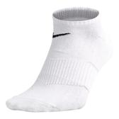 Nike Socks [SX4792-101] 男 踝襪 短襪 運動 柔軟 乾爽 精製棉 輕薄 基本款 白