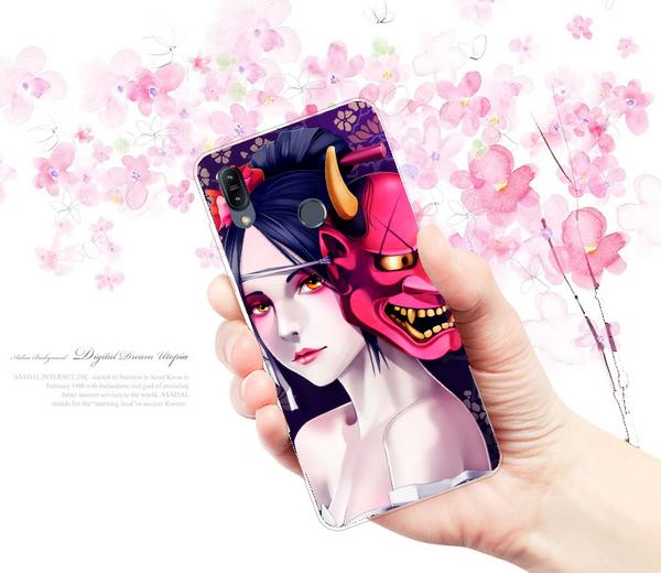 [ZB631KL 軟殼] ASUS ZenFone Max Pro (M2) X01BDA 手機殼 保護套 外殼 美女般若惡鬼