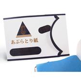 藍色小吸油紙(100入)【貝麗瑪丹Belle Madame】