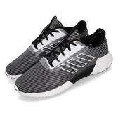 adidas 慢跑鞋 Climacool 2.0 J 黑 白 透氣涼感 女鞋 大童鞋 【PUMP306】 F33991