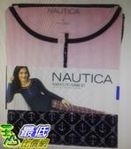 [COSCO代購] W118100 Nautica 女長袖睡衣兩件組