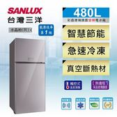 SANLUX台灣三洋 480L變頻2門電冰箱 SR-C480BVG