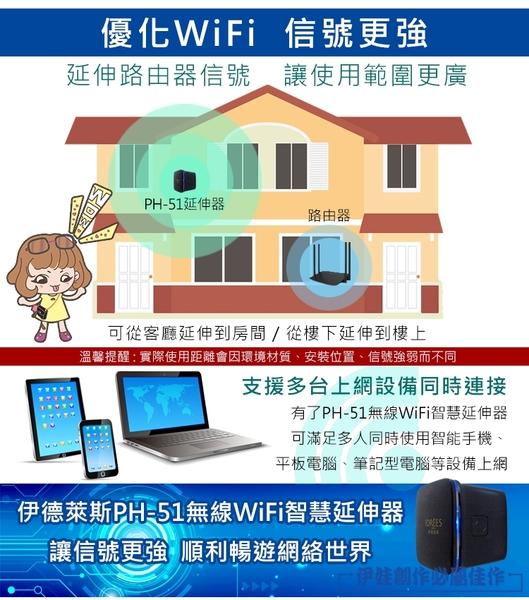 【PH-51】【3C博士】360度wifi擴展延伸器 信號放大增強器 強波器 wifi分享器hub