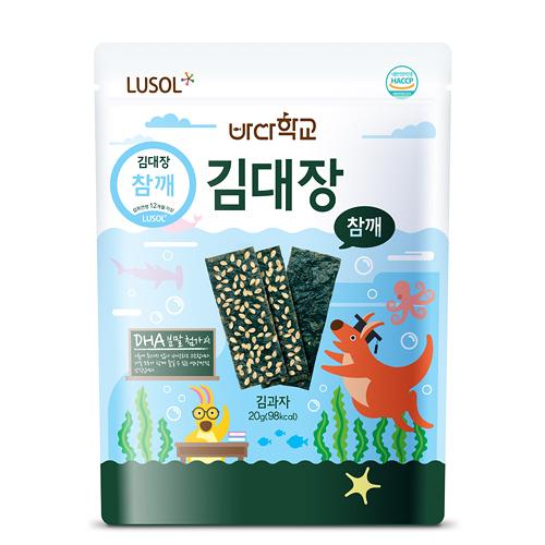 【愛吾兒】韓國 LUSOL 芝麻海苔