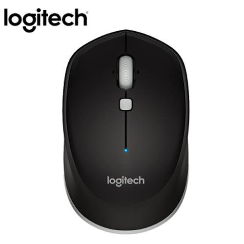 Logitech羅技 藍芽滑鼠M337 - 黑【愛買】