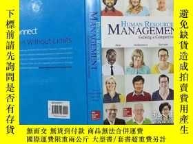 二手書博民逛書店Human罕見Resource Management Gaining a Competitive Advantag