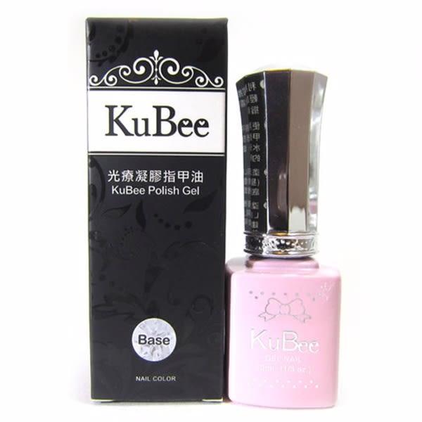 ✨MEKO小資時尚✨  KuBee 凝膠指甲油-底膠/光療指甲油/底層膠  [MEKO美妝屋]