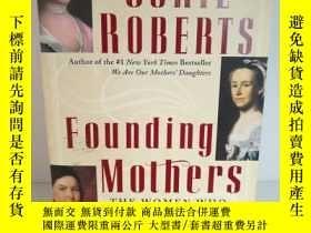 二手書博民逛書店Cokie罕見Roberts:Founding Mothers