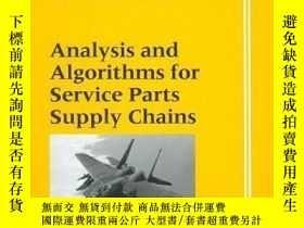 二手書博民逛書店Analysis罕見And Algorithms For Service Parts Supply Chains