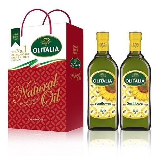 【南紡購物中心】Olitalia奧利塔-頂級葵花油禮盒(2罐/組) 2組