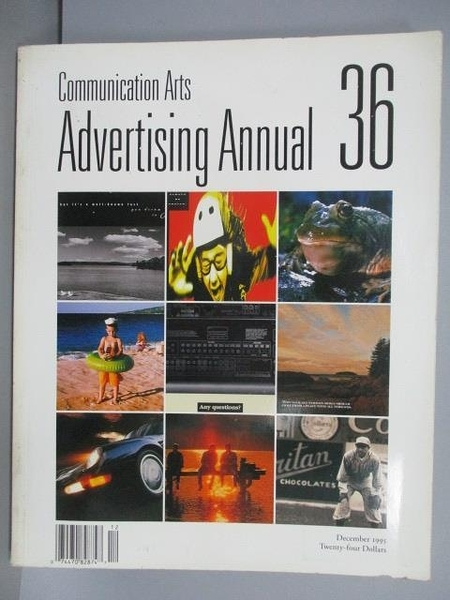 【書寶二手書T1/設計_QMH】Communication Arts(261)_Advertising Annual 36