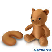 Samsonite新秀麗立體熊可翻轉頸枕