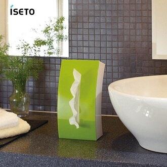 日本ISETO Bow弧形雙面面紙盒