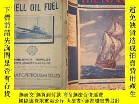 二手書博民逛書店海軍和商船事務月刊罕見The Navy --A Monthly