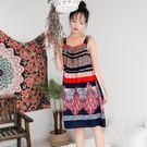 夏季睡裙女夏吊帶棉質家居服綿綢冰絲睡衣胖mm大尺碼 大呎碼200斤孕婦裙薄三角衣櫥