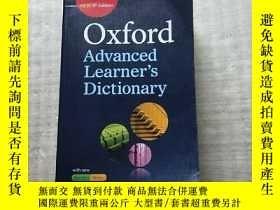 二手書博民逛書店Oxford罕見Advanced Learner s Dictionary 16開【含光盤一張 書口處有字跡 內頁